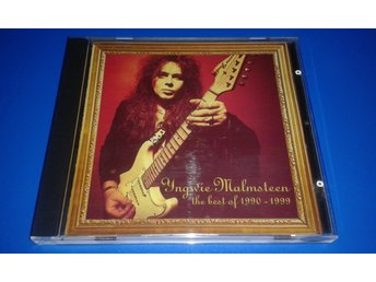 YNGWIE MALMSTEEN  - the best of 1990-1999 - cride 25  (cd)