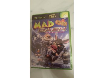 Mad Dash Racing. Xbox. Nytt!