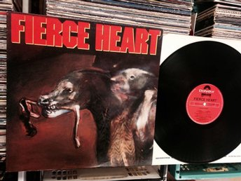 FIERCE HEART  (S/T)  RARE LP  MIRAGE RECORDS  ENGLAND 1985 !!!!!