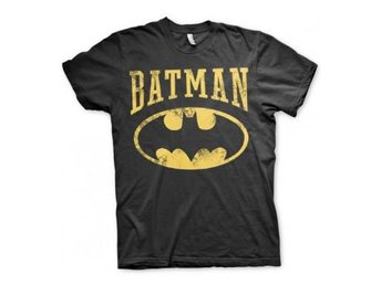 Batman T-shirt Vintage Svart XL