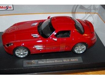 MERCEDES SLS AMG 1:18 - Skurup - MERCEDES SLS AMG 1:18 - Skurup