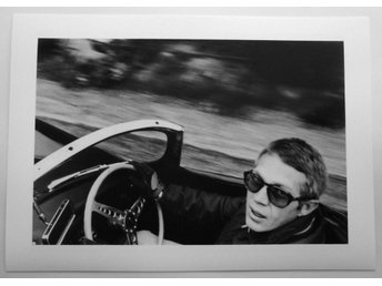 STEVE McQUEEN - Hollywood Hills, 1962 - William Claxton - *A4*-print NME!