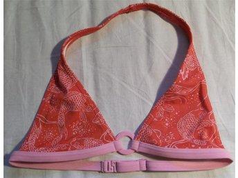 röd bikini överdel bikini bh bikini topp med fiskar stl 164 - Stockholm - röd bikini överdel bikini bh bikini topp med fiskar stl 164 - Stockholm