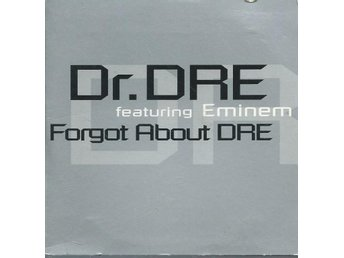 DR DRE Feat EMINEM - FORGOT ABOUT DRE  (CD MAXI/SINGLE )