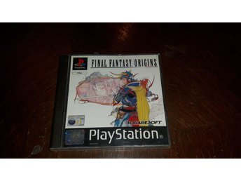Final Fantasy Origins Ps1 Komplett PAL - Fint skick!
