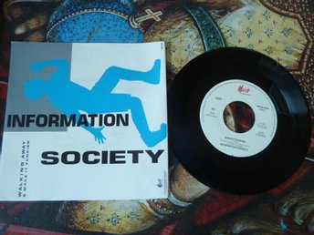 INFORMATION SOCIETY, WALKING AWAY, MINI LP, LP-SKIVA