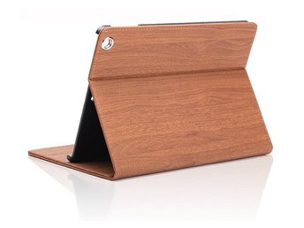 iPad Mini 1/2/3  case-wood grain - Brun