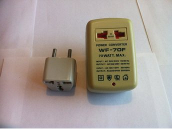 Power Converter US to EU Europe/EU Europe to US