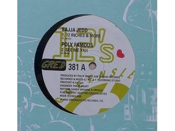 "Bajja Jedd / Poly Famous title*12 Inches & More / See Me Yah* Reggae 12"" UK"