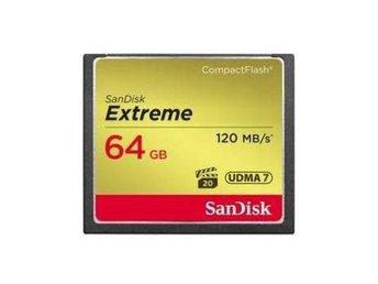 SanDisk CF Extreme 64GB 120MB/s - Nossebro - SanDisk CF Extreme 64GB 120MB/s - Nossebro