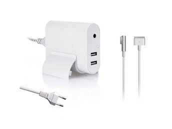 Macbook laddare 45W med USB port och L kontakt