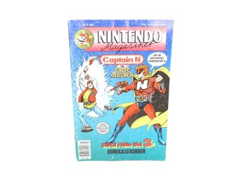 Nintendo Magasinet 3 1991 med Power Play bilaga