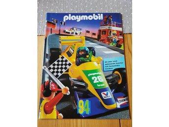 Playmobil 1994 Katalog från gammal leksaksaffär äldre leksaker gamla broschyr - åstorp - Playmobil 1994 Katalog från gammal leksaksaffär äldre leksaker gamla broschyr - åstorp