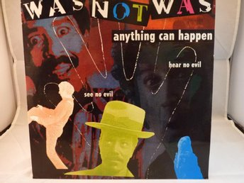WAS NOT WAS - ANYTHING CAN HAPPEN  ( MAXI SINGEL / VINYL)