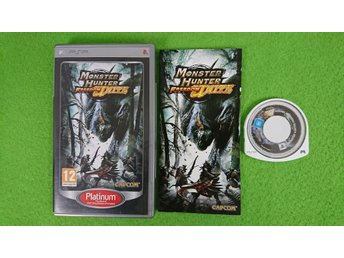 Monster Hunter Freedom Unite KOMPLETT Psp Playstation Portable