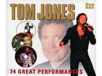 Jones Tom: 74 great performances (3 CD)