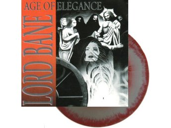 Lord Bane ‎–Age Of Elegance lp red/silver NOTVD Progressive