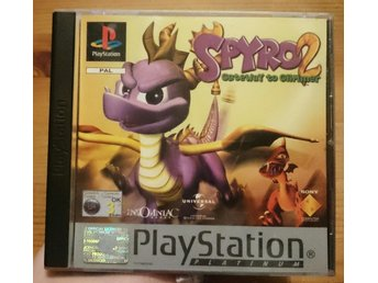PlayStation one spel Spyro 2 Gateway to Glimmer