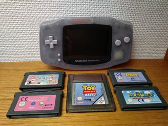 GAME BOY ADVANCE [GBA] - NINTENDO - 5 SPEL