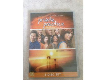 DVD-film Private Practice The Complete First Season Extended Edition 3 st Skivor