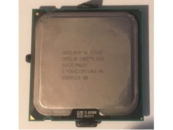 Core2Duo E7500 2,93GHz