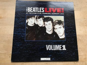 BEATLES THE - AT THE STAR CLUB, HAMBURG LIVE! VOL1. LP