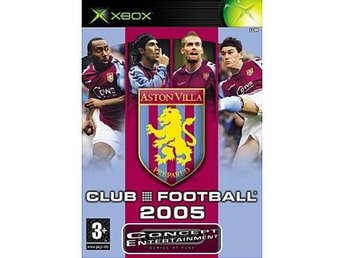 ASTON VILLA CLUB FOOTBALL 2005 (Nytt) till Microsoft Xbox