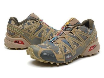 Mens Strl Eu 42 Salomon speedcross3 skor light camo