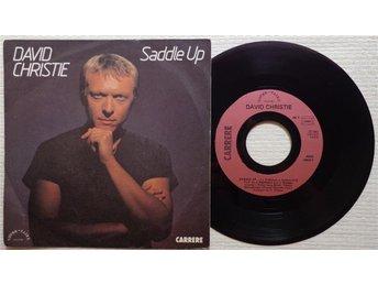 """DAVID CHRISTIE 'Saddle Up' 1982 French 7"""" - Bröndby - DAVID CHRISTIE 'Saddle Up' 1982 French 7"""" - Bröndby"""