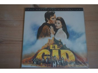 El Cid - Criterion Collection - Laserdisc