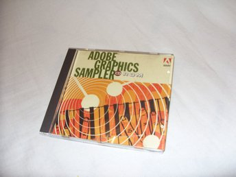 Adobe Graphics Sampler CD ROM Pc & Macintosh 1989-1994