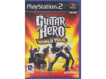Guitar Hero - World Tour, PlayStation 2