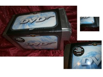 James Bond Collection 007 Special Edition DVD Box Set Tin (20 dvd's)mint/sealed