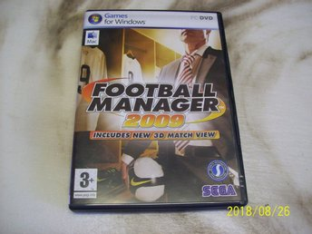 Fotball manager 2009 (PC)