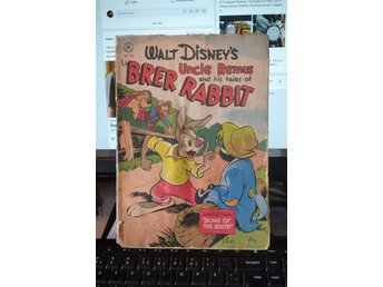 Walt disney Uncle remus and his tales of BRER RABBIT 1946