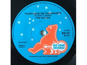 "The Quads ""There Must Be Thousands"" 1979 RARE Mod Power Pop"