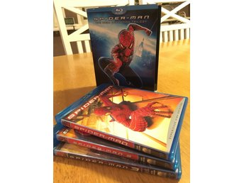 Spider-Man the high definition trilogy på Blu-ray