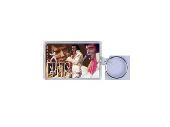 Elvis Presley Aloha Collage Nyckelring.