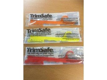 3 st Trim Safe / trimknivar - åstorp - 3 st Trim Safe / trimknivar - åstorp