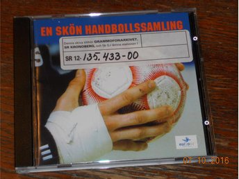 V/A EN SKÖN HANDBOLLSAMLING Kenta Jumper Uno Just D Creeps CD Warner Promo '02