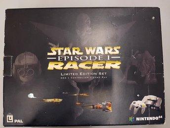 Nintendo 64 Basenhet Star Wars Episode 1 Racer Bundle - Nintendo 64 - Varberg - Nintendo 64 Basenhet Star Wars Episode 1 Racer Bundle - Nintendo 64 - Varberg