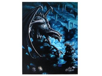 Canvas Tavla - Rock Dragon