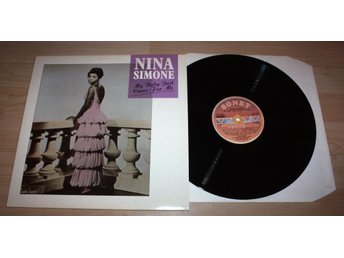 NINA SIMONE My baby just cares Great LP Sonet 1987 M-