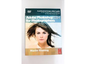 Adobe Photoshop CS4 for Photographers - 676 sidor, foto, PS - nypris 379kr