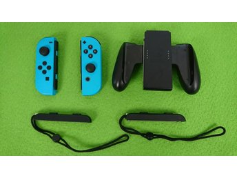 2st Joy-Cons med 2 Straps & Charging Grip till Nintendo Switch joy-con joycon