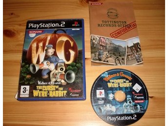 PS2: Wallace & Gromit the Curse of the Were-Rabbit