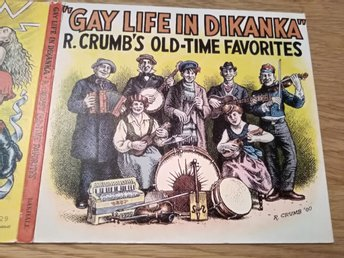 Gay Life In Dikanka - R. Crumb's Old-Time Favorites, CD