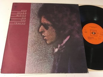 BOB DYLAN blood on the tracks LP -75 Hol CBS 69097