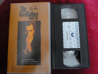 THE GODFATHER, PART III,   VHS, FILM