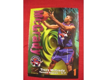 TRACY MCGRADY  RC  - 1997-98 Z-FORCE SKYBOX - TORONTO RAPTORS - BASKET